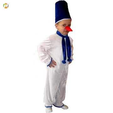 Как сделать нос для костюма снеговика своими руками