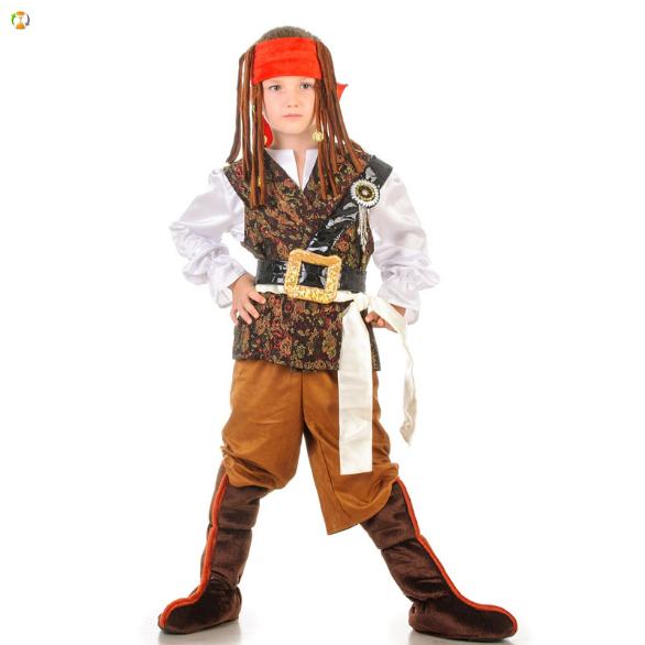 Карнавальный костюм джек воробей детский своими руками