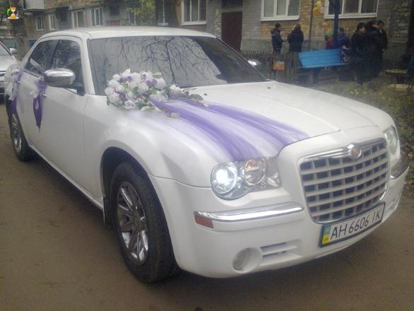 Легковой автомобиль на свадьбу